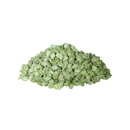 Bean, Green - Freeze Dried, Cross Cut
